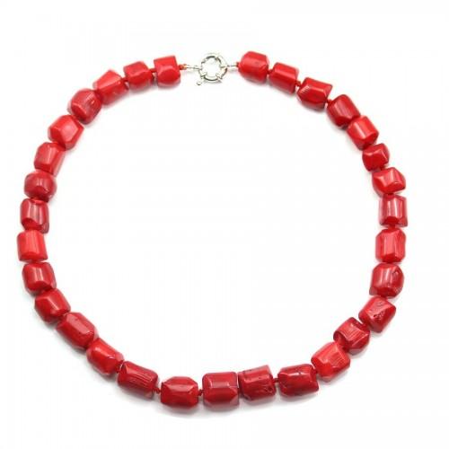 Collier en bambou de mer rouge