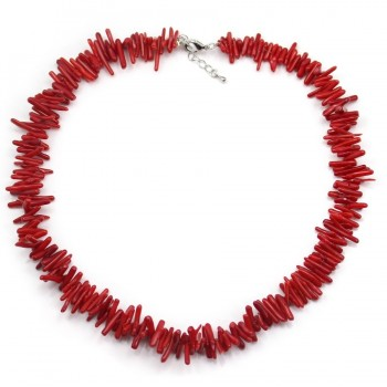 Collier simple BAMBOO DE MER ROUGE tube