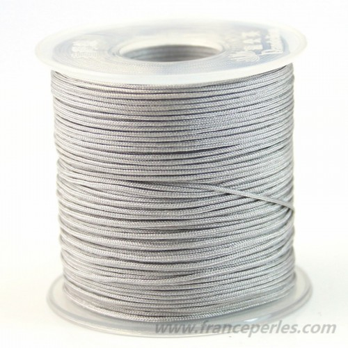 Fil polyester Grise 0.8 mm X 100 m