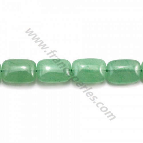 Aventurine rectangle 10*14mm x 40cm