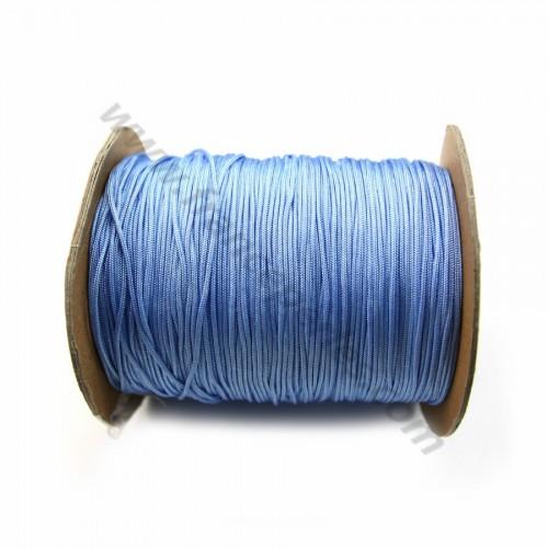 Fil polyester bleu clair 1mm x 2m