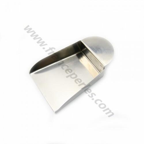 Pelle en métal avec languette x 1pc