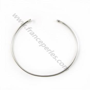 Argent 925 bracelet réglable 60mm x 1pc