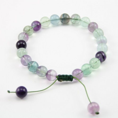 Bracelet Fluorite Rond 8 MM