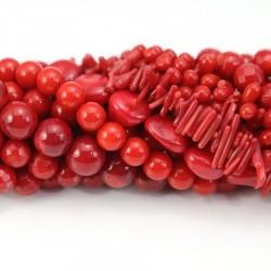 Bambou de mer teinté rouge