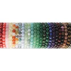 Bracelets en pierres et perles