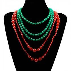 Sautoirs en pierres et perles